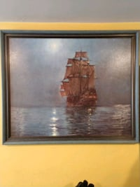 Beautiful 28x33 painting in frame Farmington, 03835
