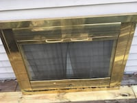 Fire place screen cover. 39 width and 30.5 height Laurel, 20708