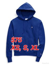 Authentic Brand New w/ Tags Champion Reverse Weave Blue Pullover Hoodie Toronto, M1V 2Z4