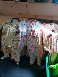 Lot of boys size 24 months sleepers.  Toronto, M1J 3G7