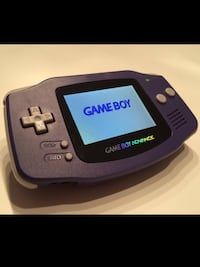 CLASSIC NINTENDO GAMEBOY ADVANCE HANDHELD GAMING SYSTEM . Edmonton, T5M 0B6