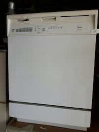 white Whirlpool dishwasher Hamilton, L8E