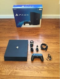 Black sony ps4 console with controller Rockville, 20850