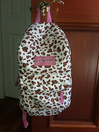 Back pack - brown and pink leopard print backpack Carlisle, 17015