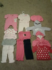 Baby Girl Assorted Clothes 3 months Lake Mary, 32746