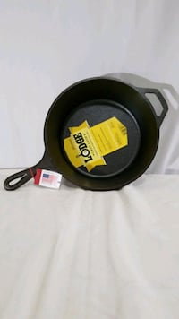 Lodge 10.25 Cast Iron Deep Skillet