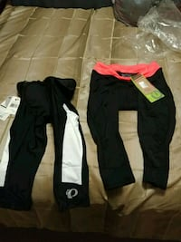 Bicycle pants nwt size small 25.00 each