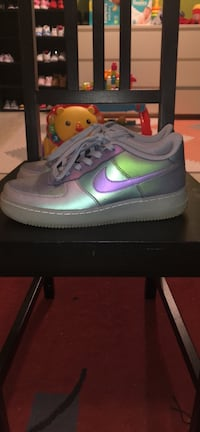 Nike Air Force 1 Iridescent size 6.5Y/8 women's Toronto, M9M 2N1