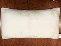 2 x bamboo memory foam pillows Vancouver, V6H