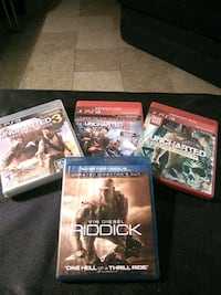 Uncharted1,2,3 and riddick BR Fulton, 13069