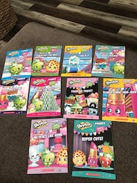 Shopkins phonics books, new Ashburn, 20147