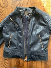Faux leather coat  Mississauga, L4Y 4A8