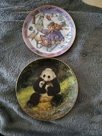 Collectable bear plates Westminster, 21157