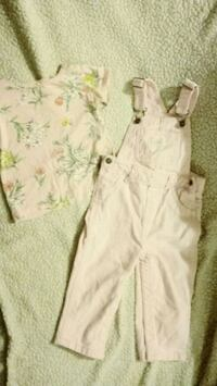 Euc carters overall outfit  Toronto, M2J 2C2