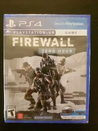 Firewall Zero Hour for PS4 (brand new sealed) Vaughan, L4L