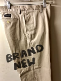 Banana republic mens chinos / brand new never worn! leftover wardrobe from a tv series that was never used. size 32 waist x32 leg