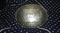 Beautiful stag belt buckle 25 obo Vancouver, V6Z