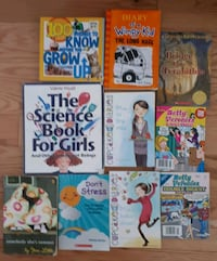 Tween books lot