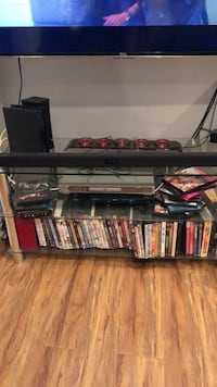 Glass Entertainment Shelf- Priced to Sell Los Angeles, 90066