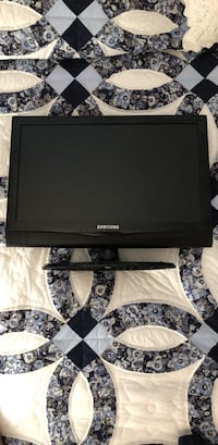 black Samsung flat screen TV Bristow, 20136