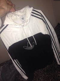 Adidas quarter zip Windbreaker