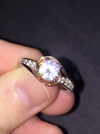 rose gold and silver ring(stainless steal) Oshawa, L1J 6A3