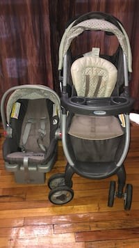 baby's black and gray Graco travel system Avenel, 07001