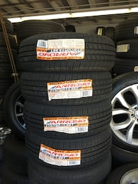 205/65R16 SET OF 4 TIRES ON SALE ⭐WE CARRY ALL MAJOR BRAND AND SIZE ⭐WE FINANCE NO CREDIT NEEDED  San Francisco, 94103