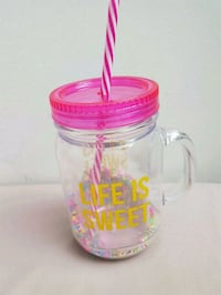 Life is sweet pink tumbler  Montreal