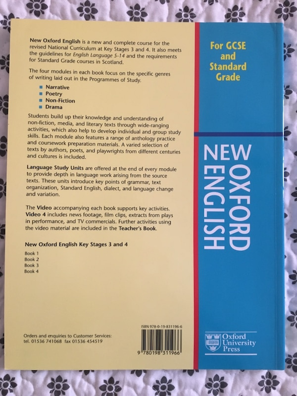 libro de Oxford University Press For GCSE and Standard Grade b706c9bd-9399-4b13-abb1-52a00aa9ac0e