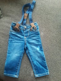 blue-washed denim jeans Rockledge