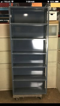 Triple A metal steel industrial shelving 7 shelves  Great condition Toronto, M1R 3E4