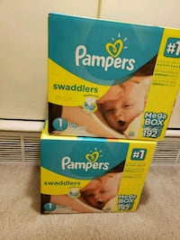 Pampers Swaddlers diapers Hyattsville, 20782