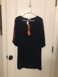 Boutique Dress Size S Navy color never worn with tags  Nashville