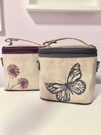 Eco friendly linen lunch bags  Toronto, M6G 1P3