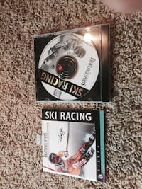 Ski racing game disc with case.