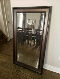 LARGE Mirror with Bevelled Glass Richmond Hill, L4E 3S9