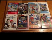 assorted Nintendo Wii game cases Wichita, 67203