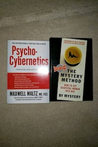 Physco cybernetics and the mystery method  $60 for both  Pitt Meadows, V3Y 2P1