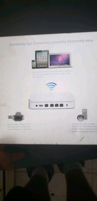 Apple wifi box works for the house to