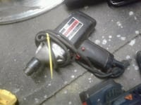 black and gray corded power tool 368 mi