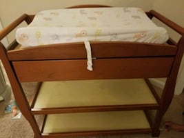 Change table for Baby with change pad
