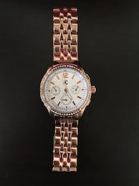 Charming Charlie rose gold women watch