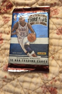 2012-2103 sealed basketball cards threads pack $3/Pk (firm) Beltsville, 20705