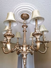 Gold chandelier light Vaughan