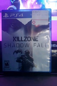 PS4 Killzone Shadow Fall case Germantown, 20874