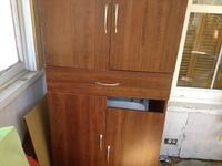brown wooden 4-door cabinet with drawer Moncton, E1A 2W8