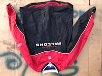 black and red Nike zip-up jacket Huntington Park, 90255