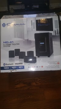 Cayman media labs HD-41 5 1 Home Theatre sytem Vancouver