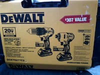 Dewalt . 20-volt brushless compact driver drill, and impact driver rea